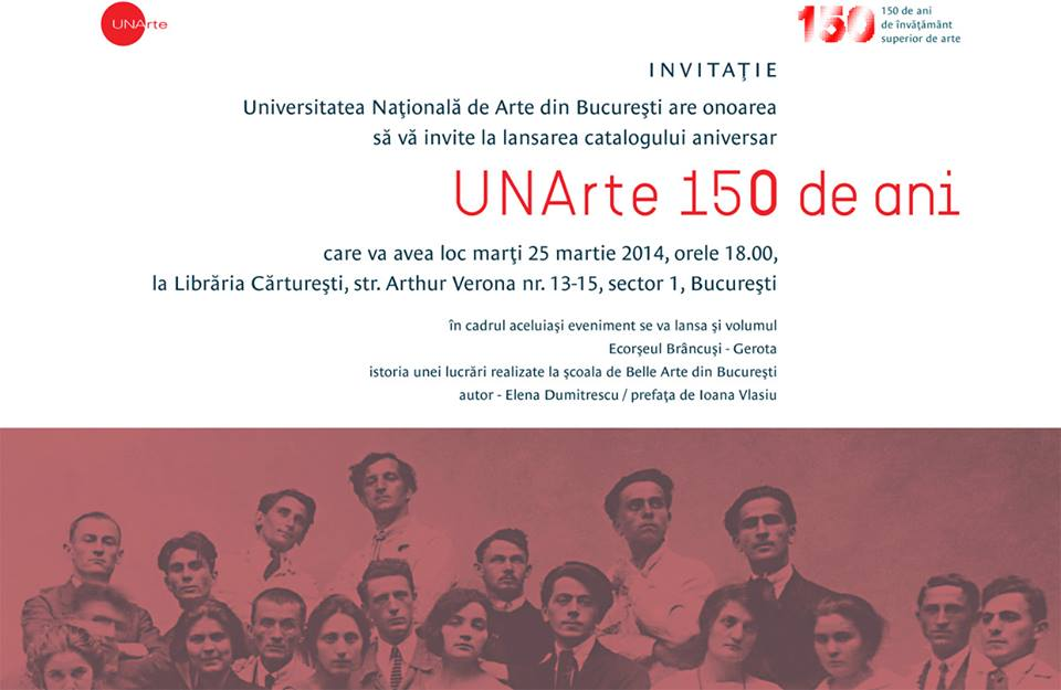 Aniversarea a 150 de ani de la infiintarea Universitatii Nationale de Arte din Bucuresti