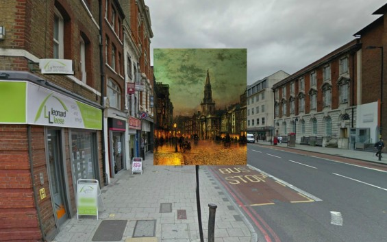 18th Century Paintings Of London Remixed With Google Street View Take Us Back In Time
