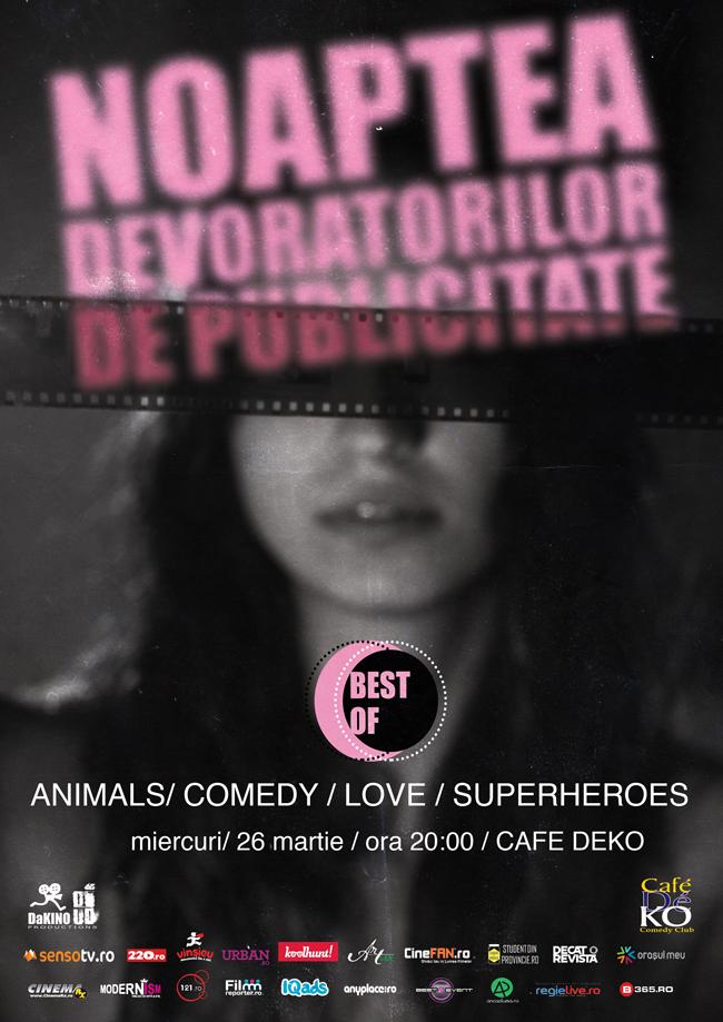 Best Of Noaptea Devoratorilor de Publicitate
