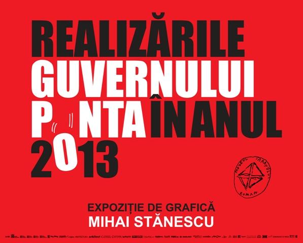 Mihai Stănescu – REALIZĂRILE GUVERNULUI PONTA ÎN ANUL 2013