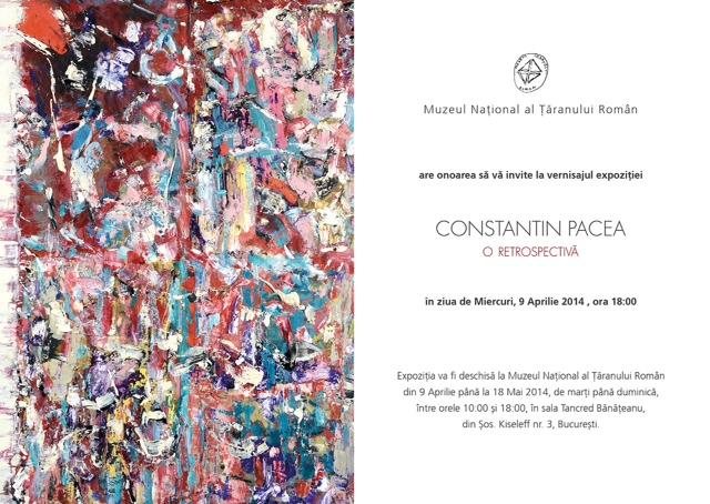 Expoziția retrospectivă Constantin Pacea la Muzeu Național al Țăranului Român