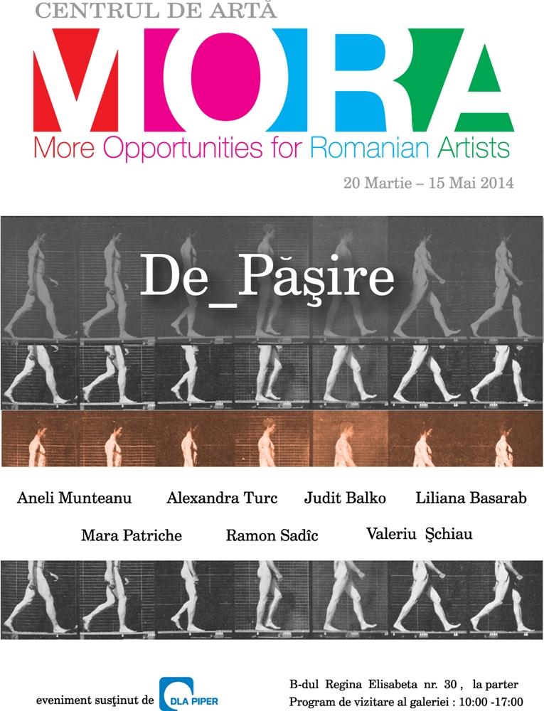 """Lansarea Centrului de Arta MORA, eveniment de deschidere: """"De_păşire""""- expoziţie de grup"""