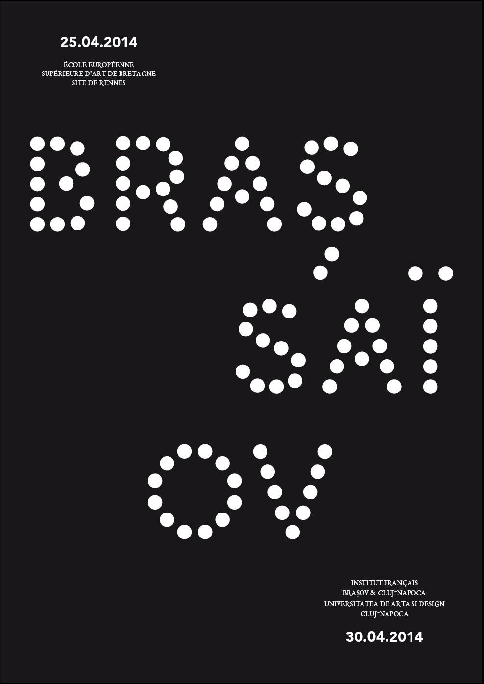 Expoziție BRASSAI/BRAȘOV @ Institut français de Cluj-Napoca & Alliance française de Brasov