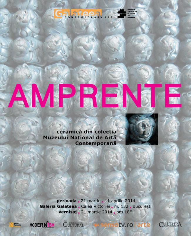 Expoziţia AMPRENTE – ceramică din colecţia Muzeului Naţional de Artă Contemporană @ Galeria Galateea, București