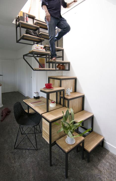 Object Élevé, A Clever Multipurpose Staircase