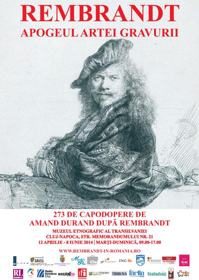 """Rembrandt. Apogeul artei gravurii"" @ Muzeul Etnografic al Transilvaniei, Cluj-Napoca"