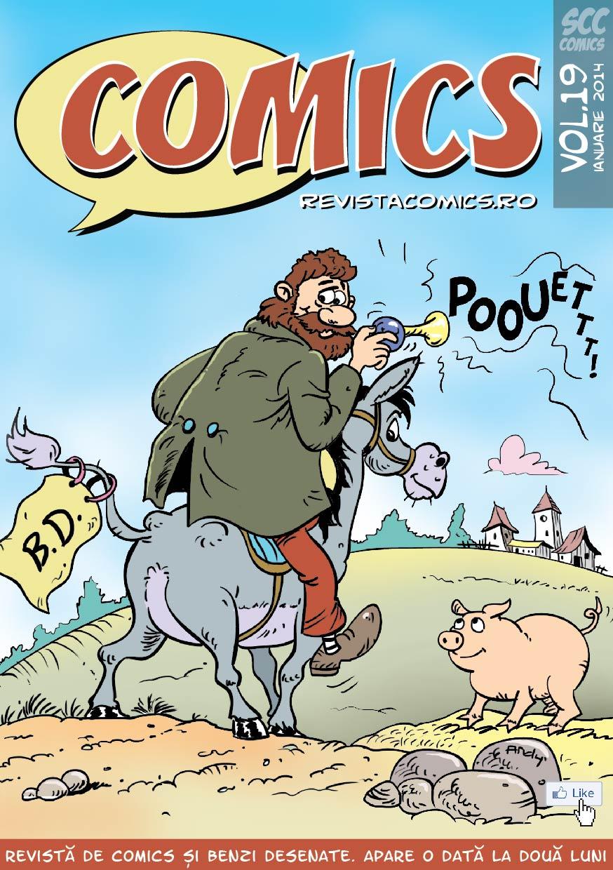 Revista COMICS nr. 20 (martie 2014)