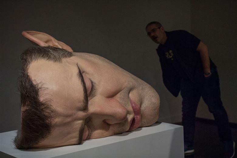 Ron Mueck exhibition @ Museum of Modern Art in Rio de Janeiro