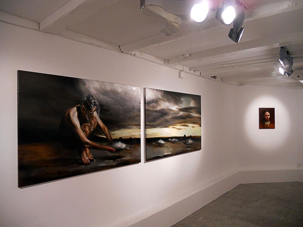 Solo show Radu Belcin, Unfulfilled hopes @ Oxholm Gallery, Copenhagen (7)