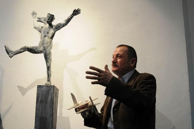 """Aurel Vlad, """"(Ne)Liniştea"""" @ Galeria Simeza, Bucureşti"""