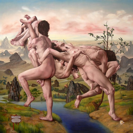 The Erotic Distortions Of Gabriel Gruns' Classicly Inspired Paintings