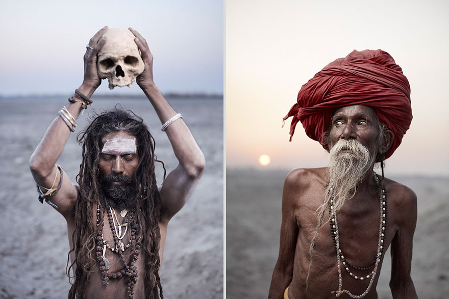 India's Holy Men In Powerful Portraits By New York-Based Photographer Joey L