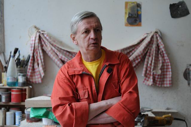 Mircea Roman – vizita in atelier