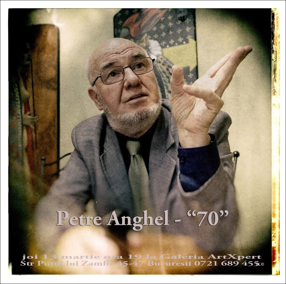 "Petre Anghel, ""Ierusalimul etern"" @ Galeria ArXpert, București"