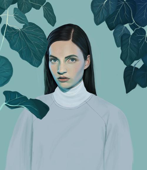 Kemi Mai paints with pixels