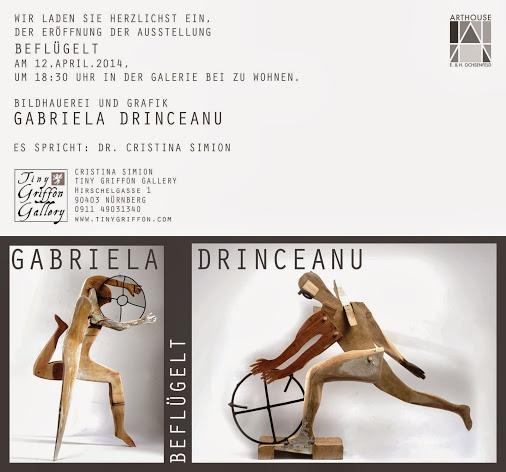 """Gabriela Drinceanu """"Inaripati"""" @ Tinny Griffon Gallery din Nurnberg"""
