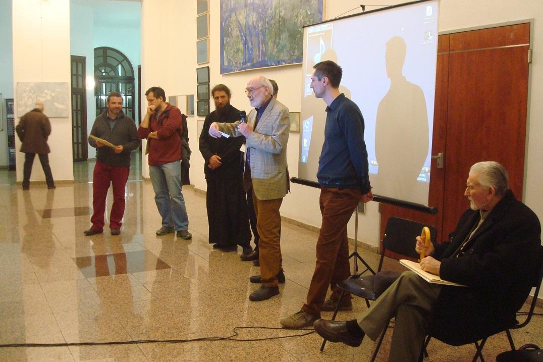 1 Andrei Rosetti, Sorin Neamtu,Ieromonah Pantelimon Susnea,Constantin Flondor,Sorin Scurtulescu,Viorel M¦ârginean.