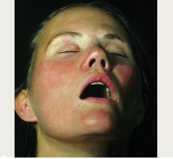 Jan Esmann's Hyper-Realistic Paintings Of Sleeping People For The Voyeur In All Of Us