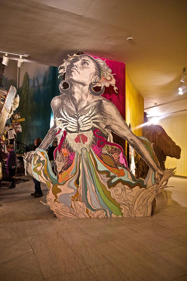 Submerged Motherlands, A New Site-Specific Installation by Swoon at the Brooklyn Museum