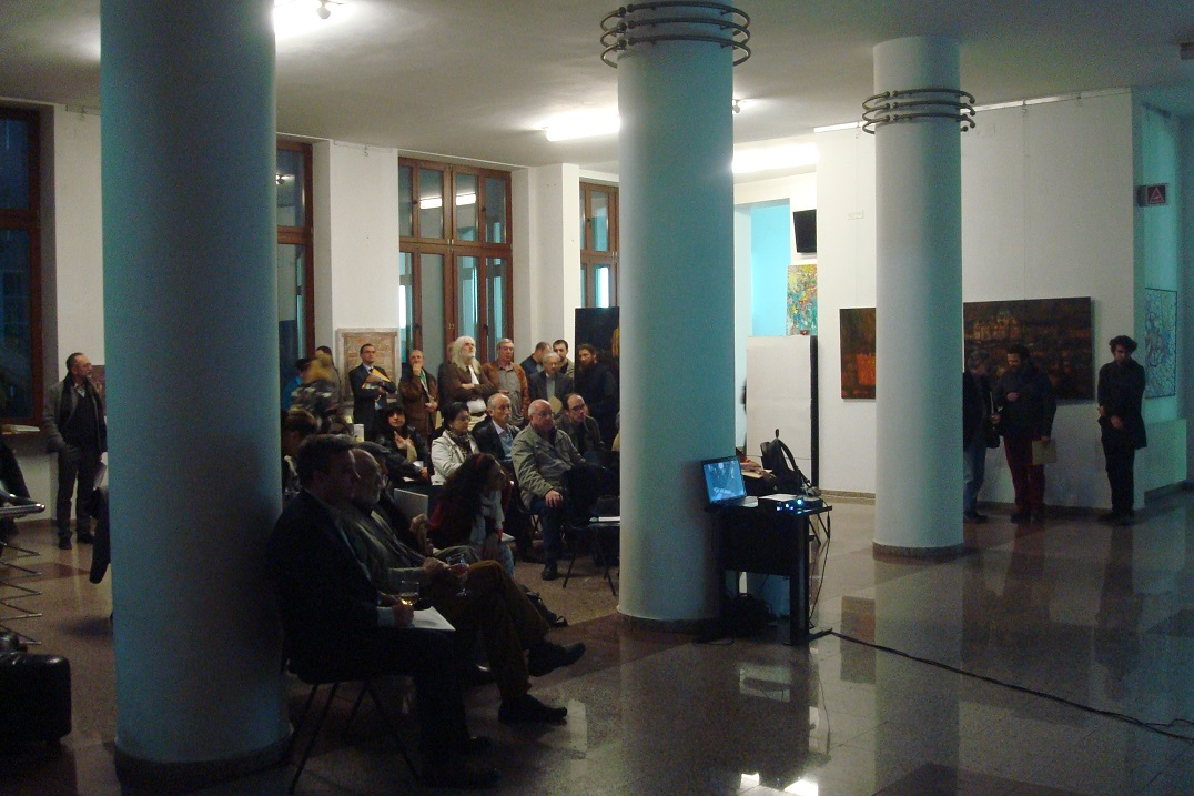6Vernisaj ADNOTARI 3 PICTURA ASE-Bucuresti 27III2014.