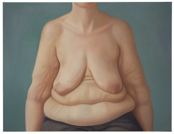 Realistic Paintings Of Naked Breasts Make A Powerful Feminist Statement