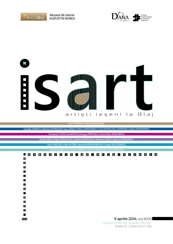 "IsART – Artiști ieșeni la Blaj @ Muzeul de Istorie ""Augustin Bunea"", Blaj"