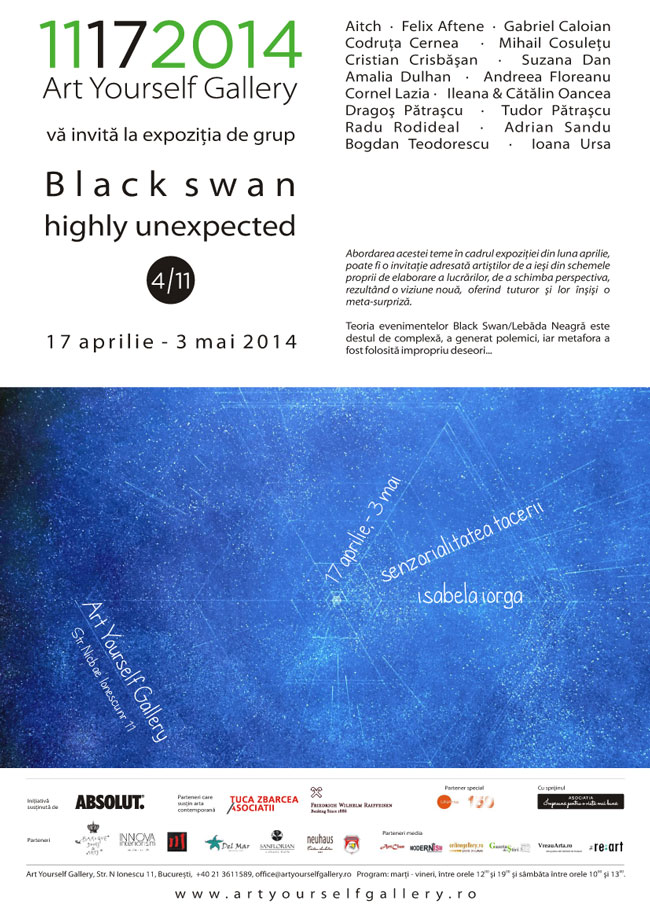 Black Swan/ highly unexpected @ Art Yourself Gallery, București