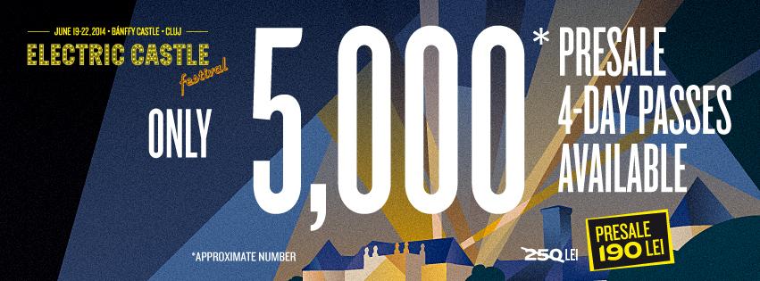 Două luni până la Electric Castle: mai sunt doar 5000 de abonamente disponibile