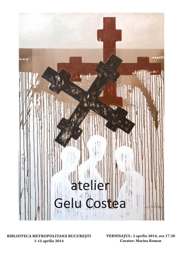 Expoziția atelier Gelu Costea @ Bibioteca Metropolitană București