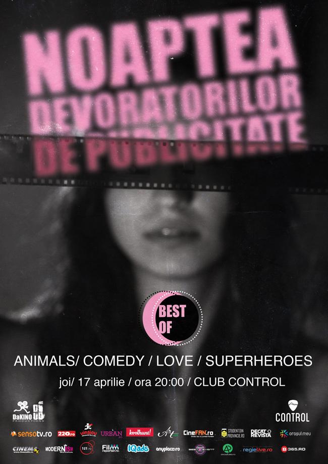 Noaptea Devoratorilor de Publicitate Best Of @ Club Control, București