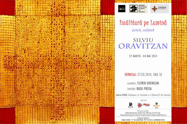 Silviu Oravitzan – Iscălitură pe Lumină @  Galeria Horeb, Cluj Napoca