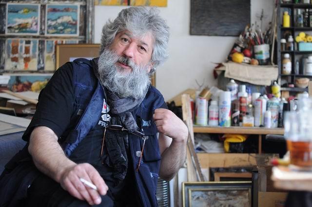 Mihail Gavril – vizita in atelier