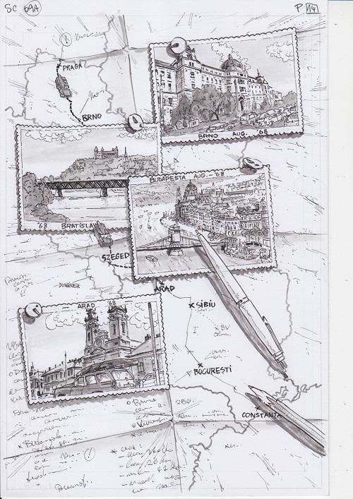 """Lansarea benzii desenate Mickey pe Dunăre, primul volum din colecția """"Relații ceho-române în banda desenată"""""""