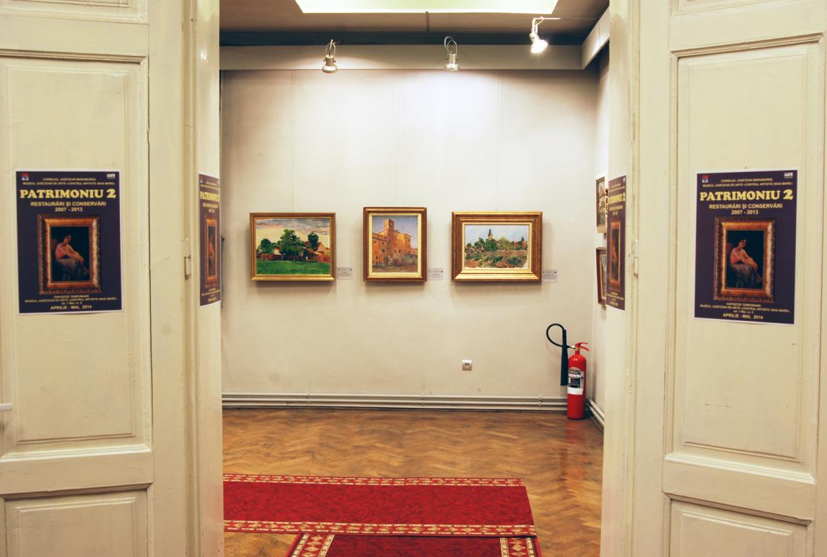 """Expoziţia """"Patrimoniu 2. Restaurări şi conservări 2007-2013"""" @ Muzeul de Artă Baia Mare"""