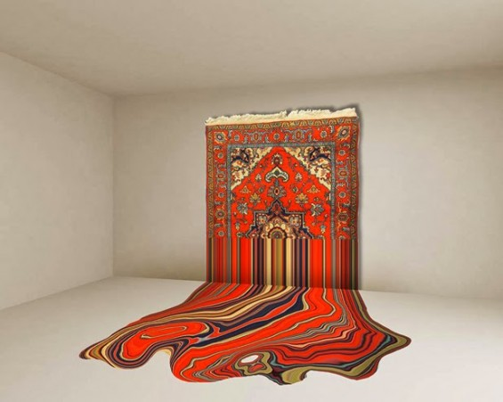 Faig Ahmed's Glitchy, Distorted Rugs Destroy The Stereotypes Of Eastern Tradition