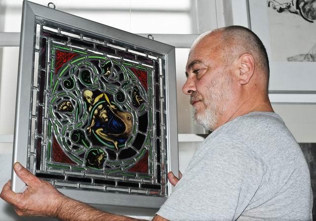 Florin Bârză – vizită în atelier