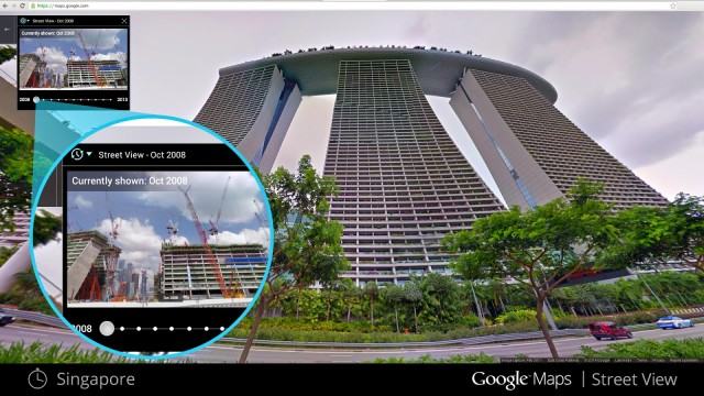 Google Street View Now Includes Historical Imagery of Locations