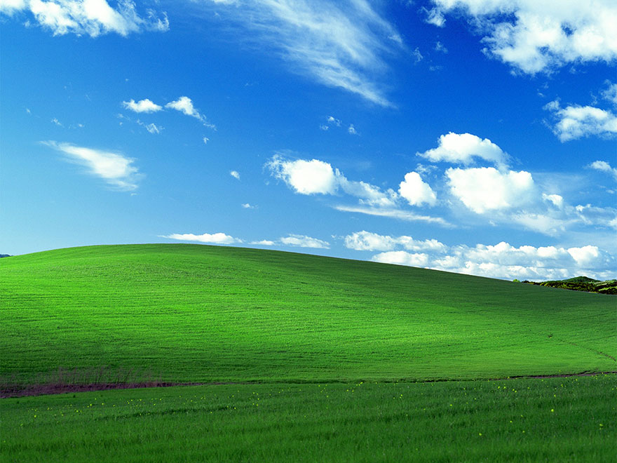 The World's Most-Viewed Photo – The Windows XP 'Bliss' Wallpaper – Is a Real, Unaltered Photo