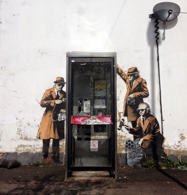 New Banksy Art Explores the Role of Technology in Our Lives
