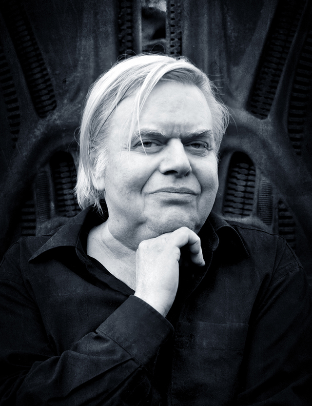 H. R. Giger (1940-2014), Swiss Surrealist Painter, Sculptor & Set Designer Best Known for Work on the 'Alien' Films