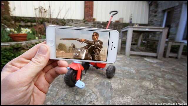 Photographer Superimposes Film and TV Stills over Everyday Backgrounds with His iPhone