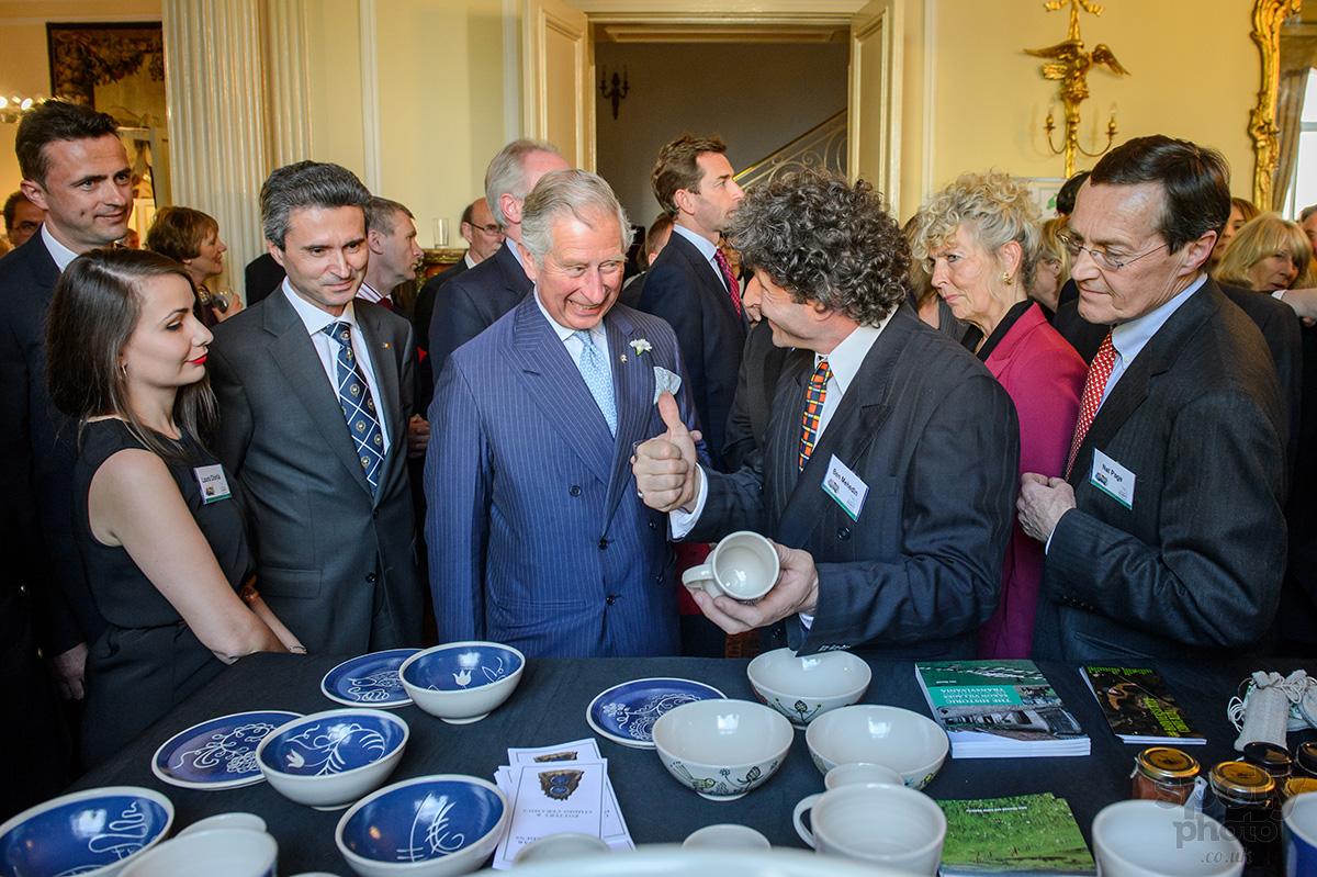 Alteța Sa Regală Prințul Charles în vizită la Ambasada României și la Institutului Cultural Român din Londra