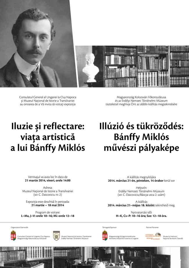 Iluzie și reflectare: viața artistică a lui Bánffy Miklós la Muzeul Național de Istorie a Transilvaniei