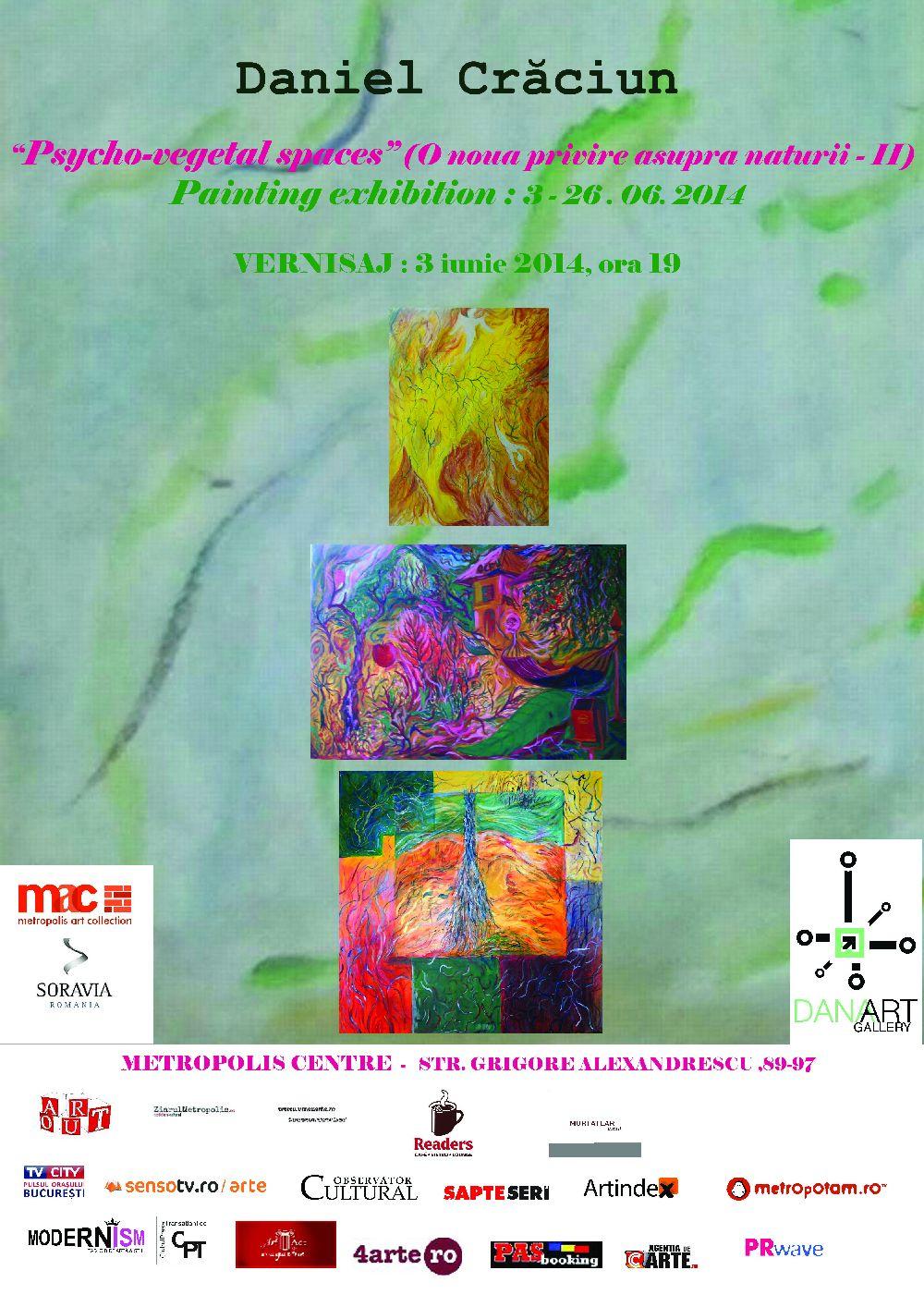"""Daniel Crăciun """"Psycho-vegetal spaces"""" @ Metropolis Centre, București"""