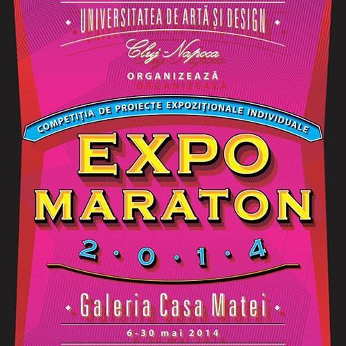 EXPO MARATON 2014 @ Galeria Casa Matei, Cluj-Napoca