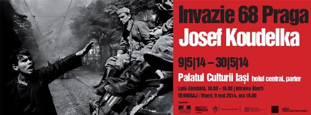 """Expoziția anului, la Iași """"Invazie 68 Praga"""" a celebrului fotograf Josef Koudelka"""