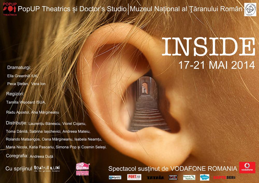 Teatru pentru (câte) doi spectatori. PopUP Theatrics și Doctor's Studio @ MȚR