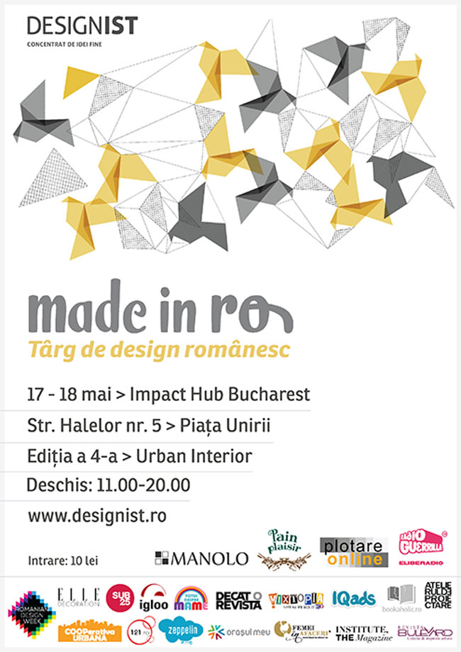 Made in RO – Târg de design românesc @ Impact Hub Bucharest