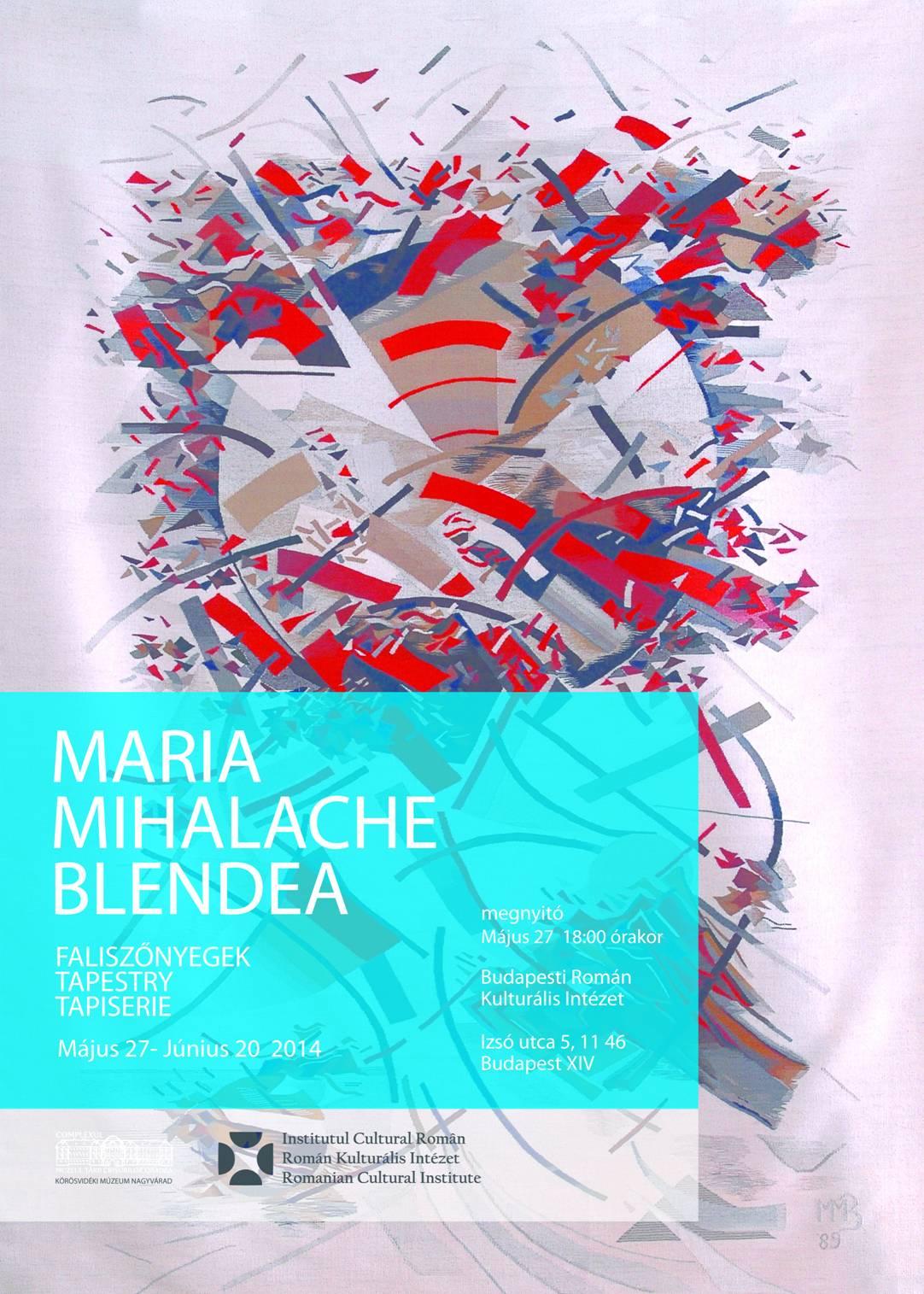 Maria Mihalache Blendea @ ICR Budapesta