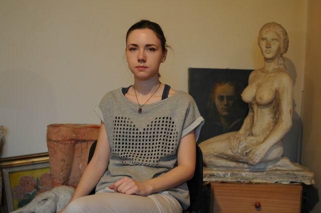 Maria Rauducanu – vizita in atelier